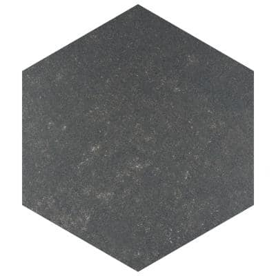 Traffic Hex Dark 8-5/8 in. x 9-7/8 in. Porcelain Floor and Wall Tile (11.56 sq. ft. / case)