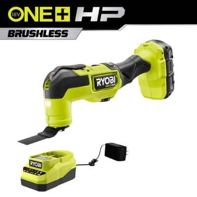 ONE+ HP 18V Brushless Cordless Multi-Tool Kit with (1) 2.0 Ah Battery and Charger