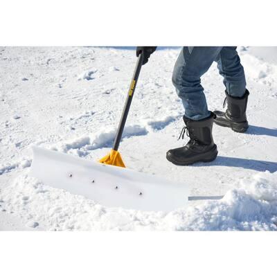 36 in. Industrial Grade Snow Pusher with Versa Grip