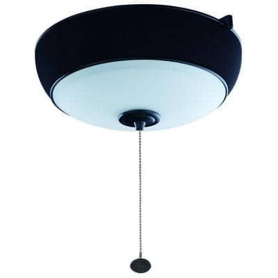 Natural Iron Ceiling Fan Audio Light Kit with Bluetooth Technology