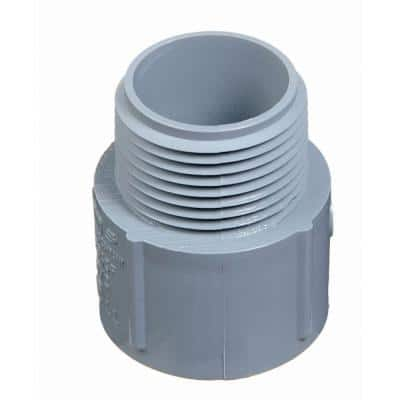 1/2 in. PVC Male Terminal Adapter (Case of 200)