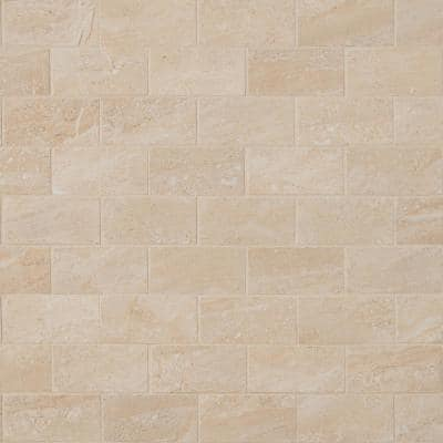 Aria Oro 12 in. x 12 in. x 10mm Polished Porcelain Mosaic Tile (8 sq. ft. / case)