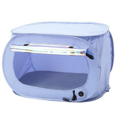 Blue Enterlude Electronic Heating Lightweight and Collapsible Pet Tent