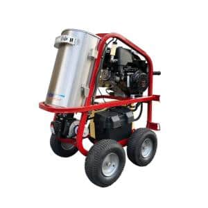 Dirt Laser 4000 PSI 3.5 GPM Hot Water Gas Pressure Washer with Honda GX390 Engine