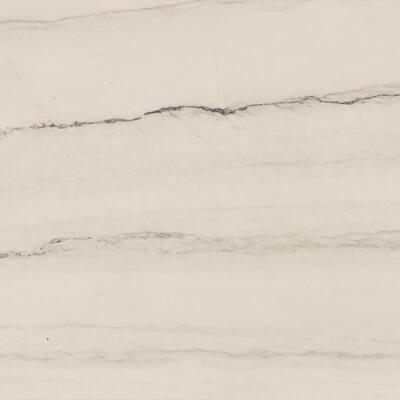 4 in. x 4 in. Stone Effect Vanity Top Sample in Gray Stone