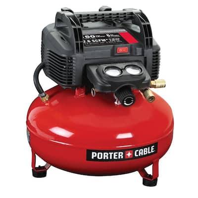 6 Gal. 150 PSI Portable Electric Pancake Air Compressor