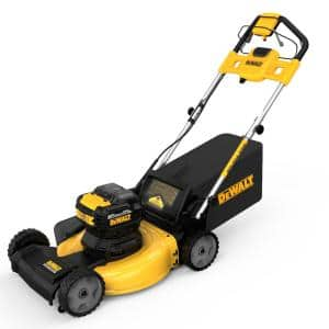 21.5 in. 20-Volt MAX Lithium-Ion Cordless Battery Walk Behind Self Propelled Mower