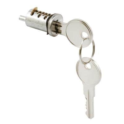 1 in., Wafer Type Sliding Diecast Door Cylinder Lock