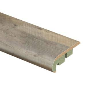 Parks Rapid Oak 3/4 in. Thick x 2-1/8 in. Wide x 94 in. Length Laminate Stair Nose Molding