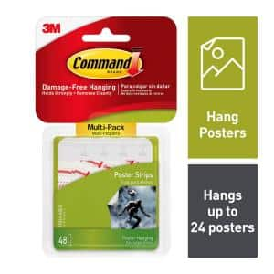 Poster Strips Value Pack (48-Pack)