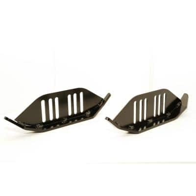 Heavy Duty Snow Blower Skid Shoes Fits 1.5 in. and 4.5 in. Slot Spacing (Set of 2)