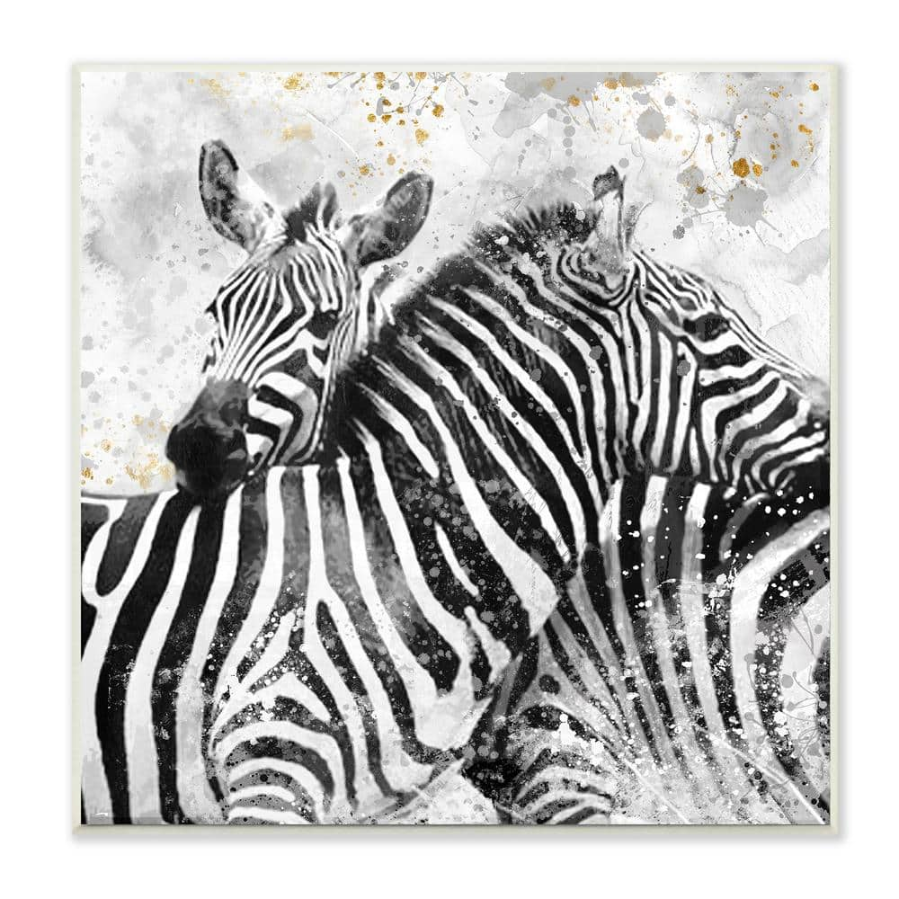 11 x 14 Stupell Industries Lively Abstract Linework Black and White Design Onrei Grey Framed Wall Art