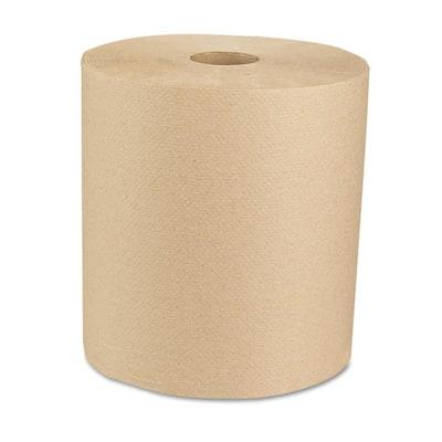 """Green Universal Roll Towels Natural 8""""x800ft (6 Rolls per Carton)"""