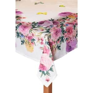 Springfield Gardens 60 in. x 120 in. 100% Cotton Tablecloth