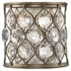 Lucia Burnished Silver Wall Sconce