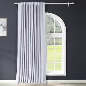 Fog Grey Rod Pocket Blackout Curtain - 100 in. W x 96 in. L