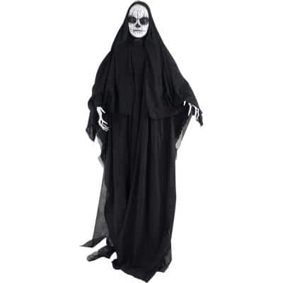71 in. Touch Activated Animatronic Reaper