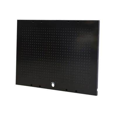 36 in. W x 26 in. H Steel Pegboard Set in Black for Ready-to-Assemble Steel Garage Storage System