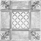 2 ft. x 2 ft. Clip Up Tin Ceiling Tile in Clear Lacquer (24 sq. ft./case)