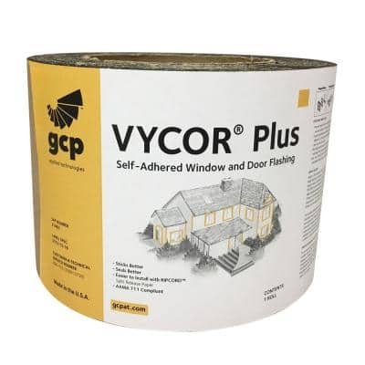Vycor Plus 9 in. x 33 ft. Roll Fully-Adhered Flashing