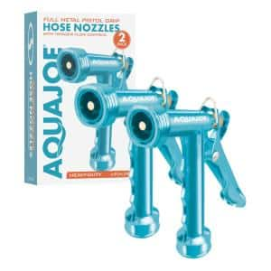 Full Metal Pistol Grip Hose Nozzle (2-Pack)
