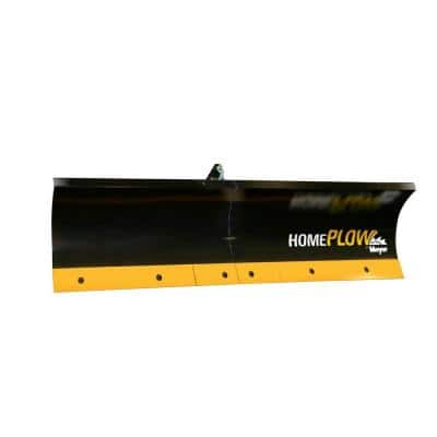 80 in. x 18 in. Residential Auto-Angling Snow Plow with Electric Lift