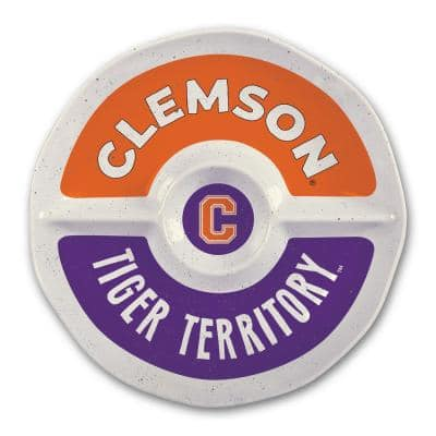 Clemson 15 in. Chip and Dip Server
