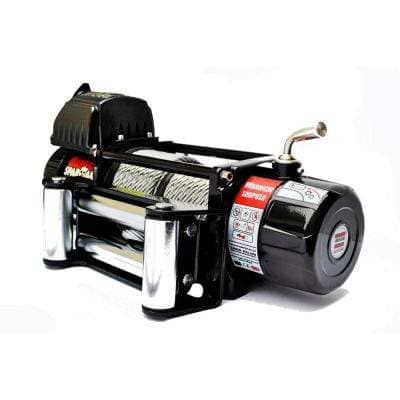 Spartan Series 12,000 lb. Capacity 12-Volt Electric Winch with 82 ft. Steel Cable