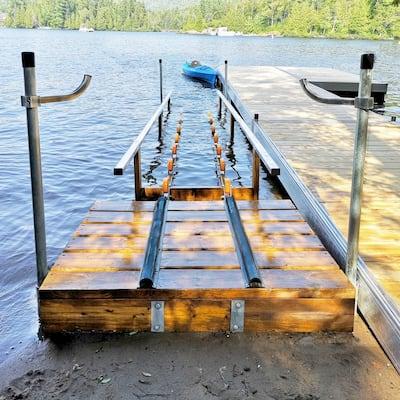 Kayak or Canoe Rolling Launching Ramp Kit