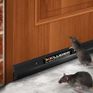 48 in. Residential Rodent Proof Door Sweep, Dark Bronze