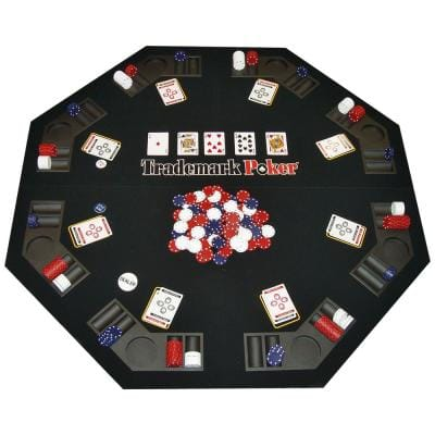 Texas Traveler Table Top and 300 Chip Set