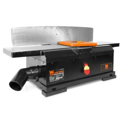 10 Amp 6 in. Corded Benchtop Jointer with Cast Iron Table and Fence