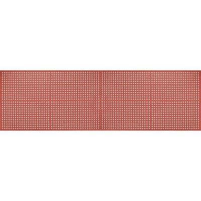"""Work Step 1/2"""" Red-GreaseProof 3 Ft. x 10 Ft. Commercial Floor Mat"""