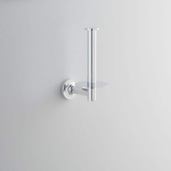 Kohler Purist Wall Mount Single Post Toilet Paper Holder In Polished Chrome K 14444 Cp The Home Depot
