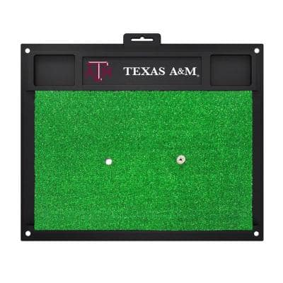 NCAA Texas A&M University 17 in. x 20 in. Golf Hitting Mat