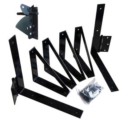 Deck Gate Hardware Kit with Latch
