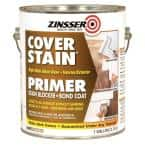 Cover Stain 1 gal. White High Hide Alkyd-Base Interior/Exterior Primer and Sealer (2-Pack)