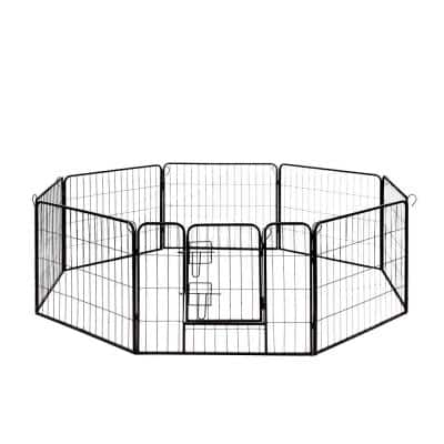 2 ft. H x 5.5 ft. W x 5.5 ft. L Dog Kennel