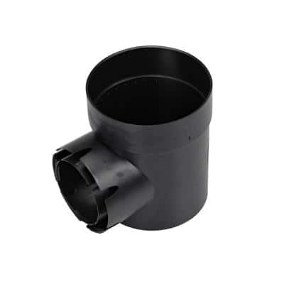 6 in. Plastic Round Speed-D Styrene Drainage Catch Basin