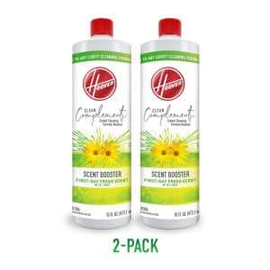Clean Complements 16oz Scent Booster Formula for Carpet Cleaner Machines, 2-Pack, AH33010, White