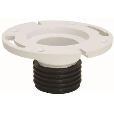 Water-Tite 3 in. Pipe Fits Push 'N Repair PVC Closet Flange