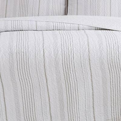 Warm Hearth Stripe Quilt Set