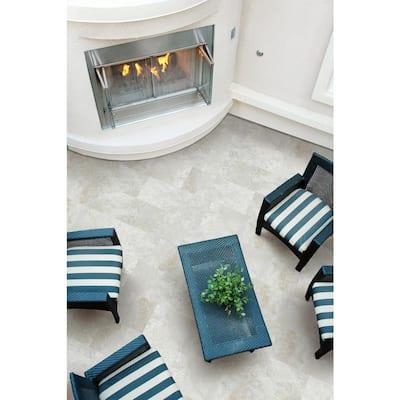 Argento Travertino 16 in. x 32 in. Matte Porcelain Paver Floor Tile (16 Pieces/56.8 sq. ft./Pallet)