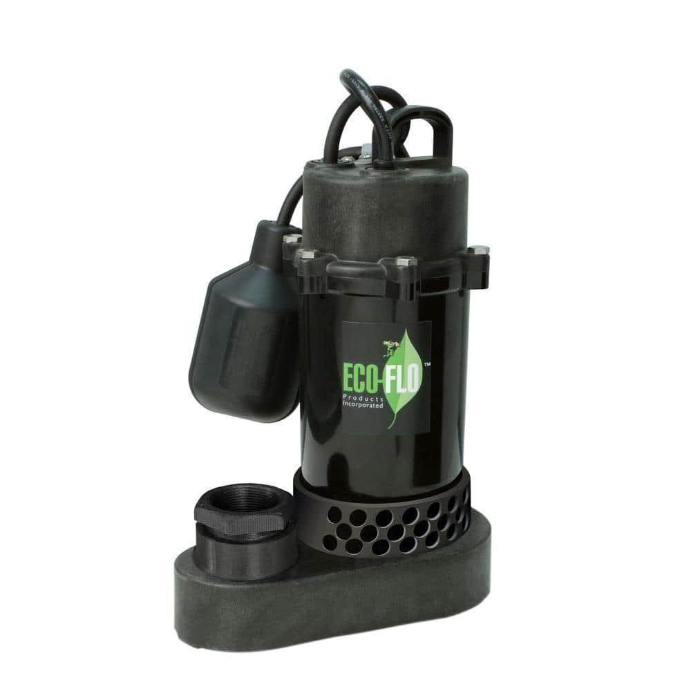 Details about  /1HP Electric Submersible Water Pump Sump with Float Switch Portable B t s e 163