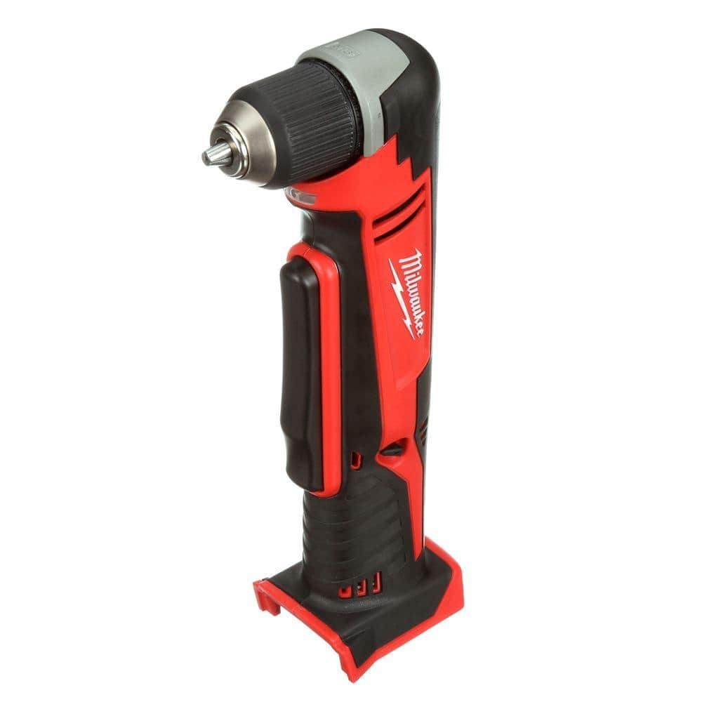 milwaukee m18 18 volt lithium ion cordless 3 8 in right angle drill tool only 2615 20 the home depot