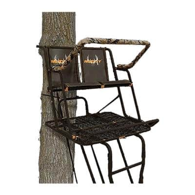 Partner 17 ft. Outdoor 2 Person Hunting Deer Ladder Tree Stand