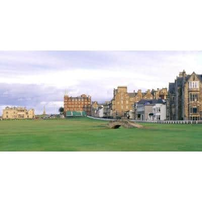 120 in. x 60 in. St. Andrews Golf Wall Mural
