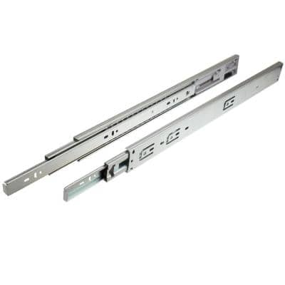 75 Series 24 in. Steel Side-Mount Soft-Close Drawer Slide 1-Pair (2 Pieces)