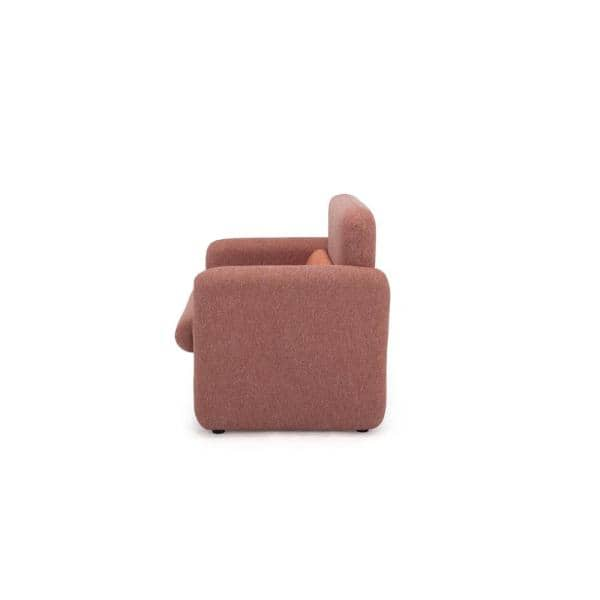 Cozyblock Ross Series Red Woven Fabric, Sofa Cushion Support Home Depot
