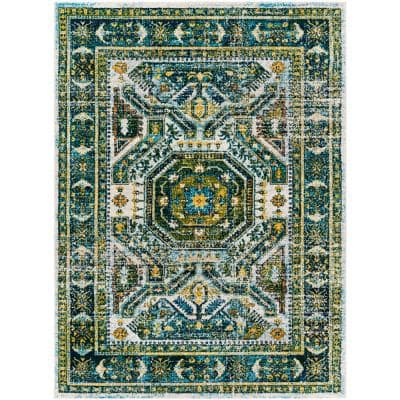 Green 5 X 7 Area Rugs Rugs The Home Depot